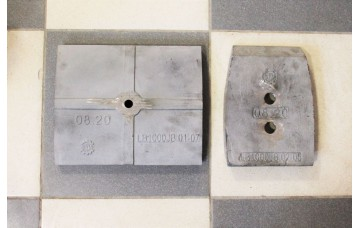 Лопатка LB1000JB.02-05, Изнашивающийся лист LB1000JB.01-07