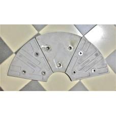 Торцевая броня J083121 AMMANN 240, 280
