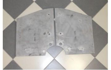 Торцевая броня смесителя C D